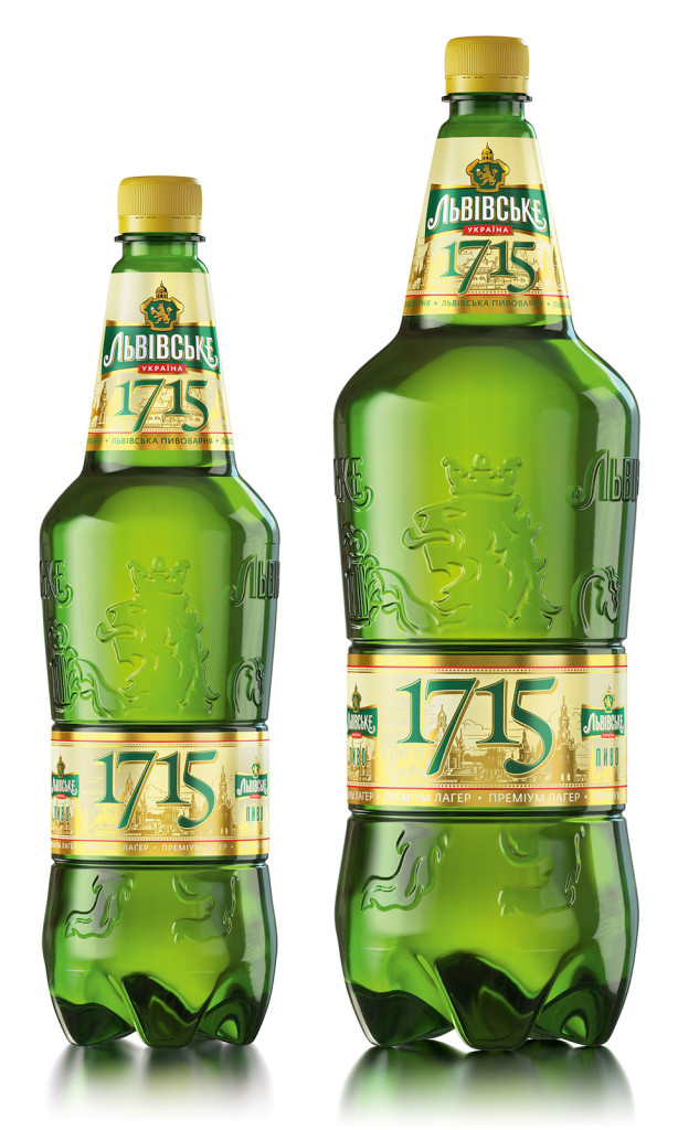 Lvivske 1715 PET Bottles