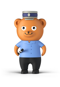 Bayer_Bear_PoliceMan