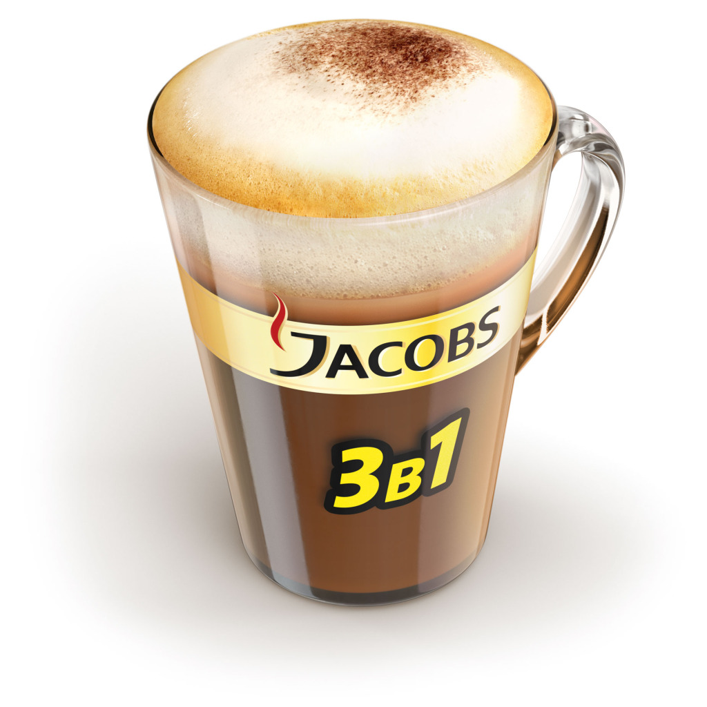 Jacobs Glass Mug
