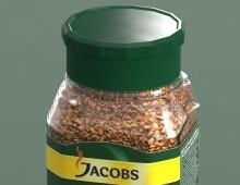 3D: Банка розчинної кави Якобз