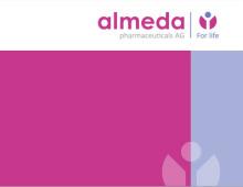 Логотип та фірмовий стиль Almeda Pharmaceuticals AG